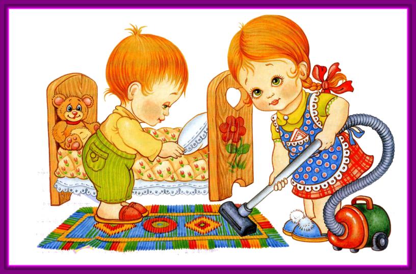 Секреты веселой уборки в детской