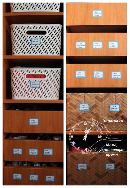 Как организовать хранение детской одежды