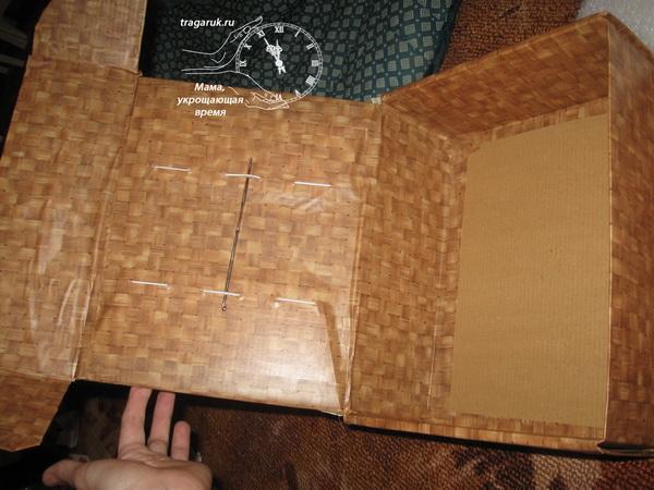 Органайзер для ниток и иголок своими руками - фото процесса изготовления